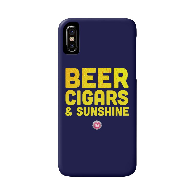 Beer, Cigars & Sunshine Accessories Phone Case by thatssotampa's Artist Shop