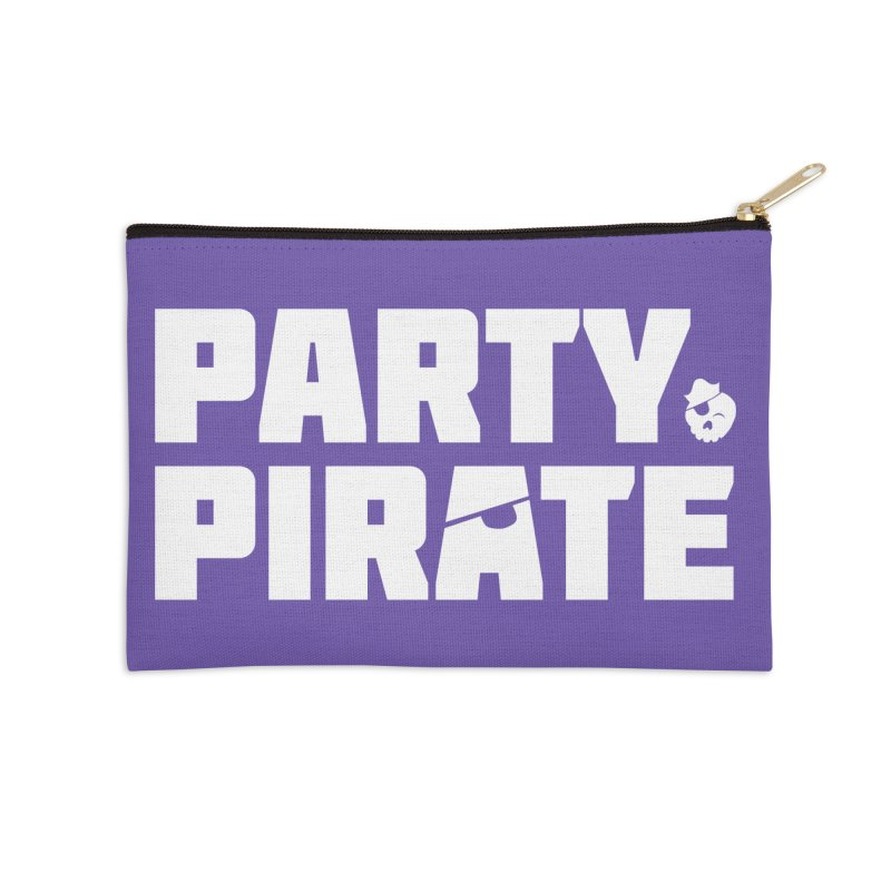 THE Party Pirate Accessories Zip Pouch by thatssotampa's Artist Shop
