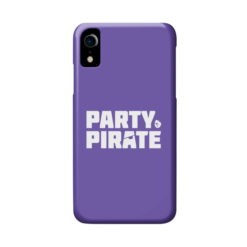 THE Party Pirate Accessories Phone Case by thatssotampa's Artist Shop