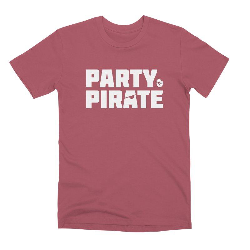 THE Party Pirate Men's Premium T-Shirt by thatssotampa's Artist Shop