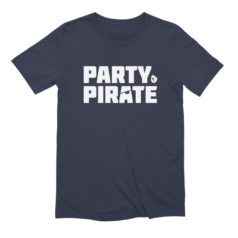 THE Party Pirate Men's Extra Soft T-Shirt by thatssotampa's Artist Shop