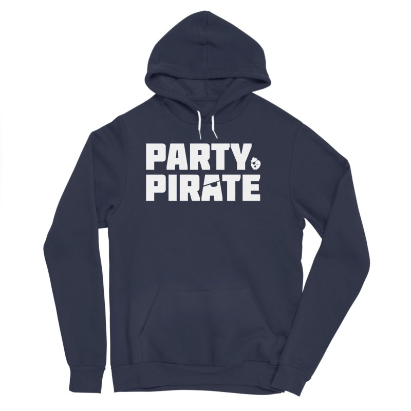 THE Party Pirate Women's Sponge Fleece Pullover Hoody by thatssotampa's Artist Shop