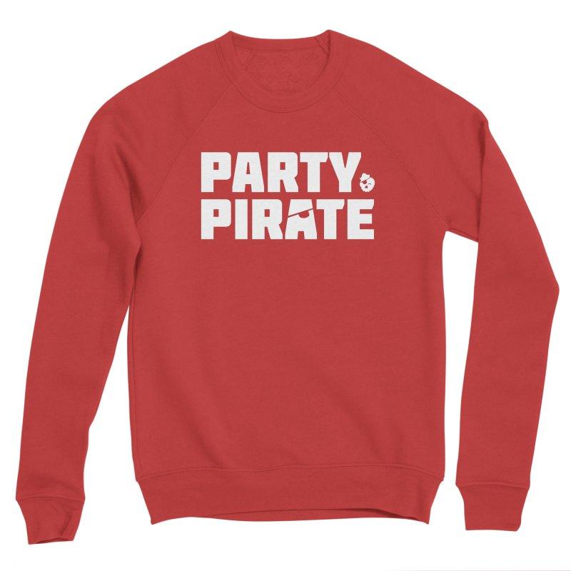 THE Party Pirate Men's Sponge Fleece Sweatshirt by thatssotampa's Artist Shop