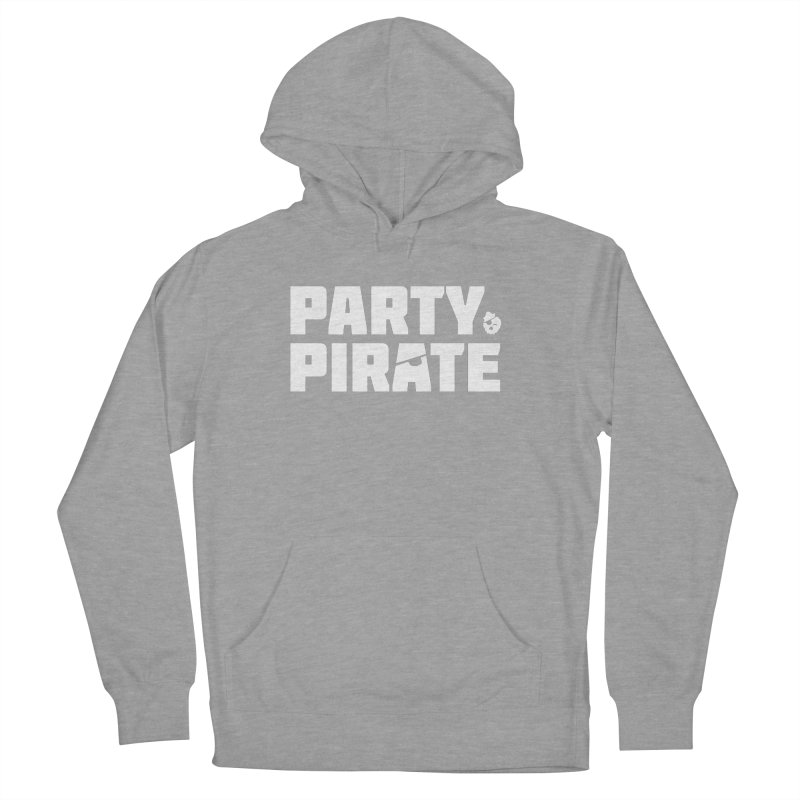 THE Party Pirate Women's French Terry Pullover Hoody by thatssotampa's Artist Shop