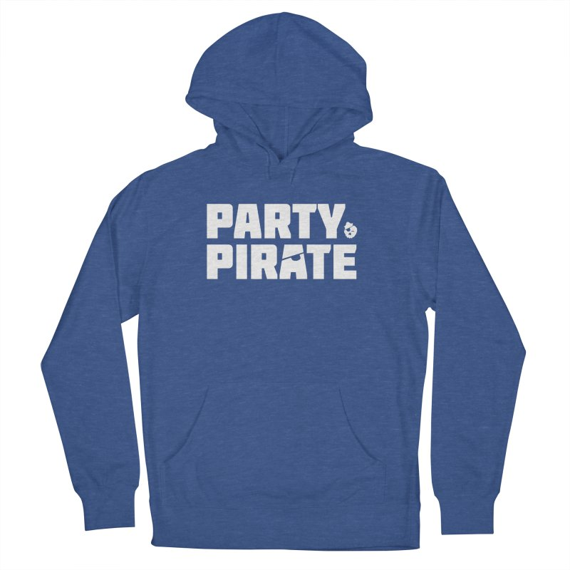 THE Party Pirate Men's French Terry Pullover Hoody by thatssotampa's Artist Shop