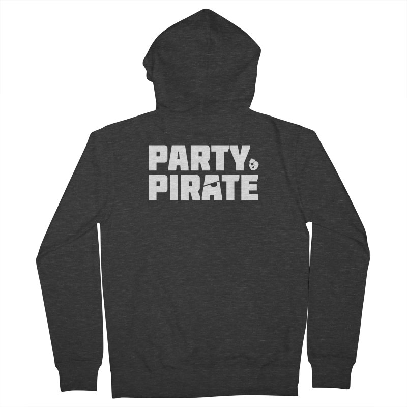 THE Party Pirate Women's French Terry Zip-Up Hoody by thatssotampa's Artist Shop