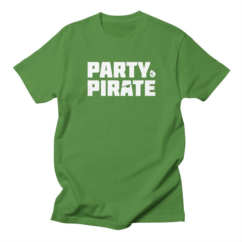 THE Party Pirate Women's Regular Unisex T-Shirt by thatssotampa's Artist Shop