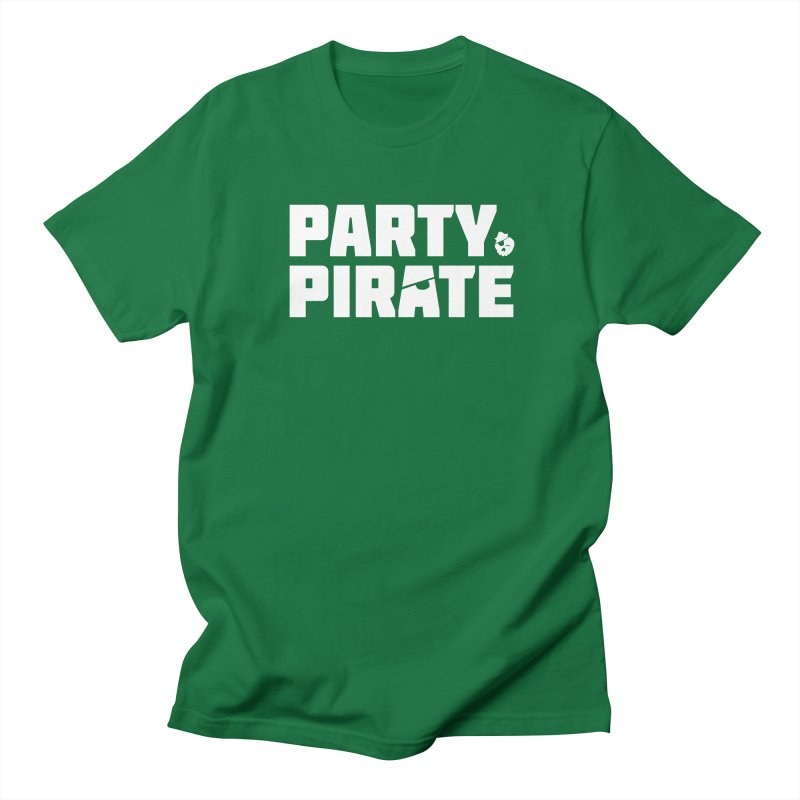 THE Party Pirate Men's Regular T-Shirt by thatssotampa's Artist Shop