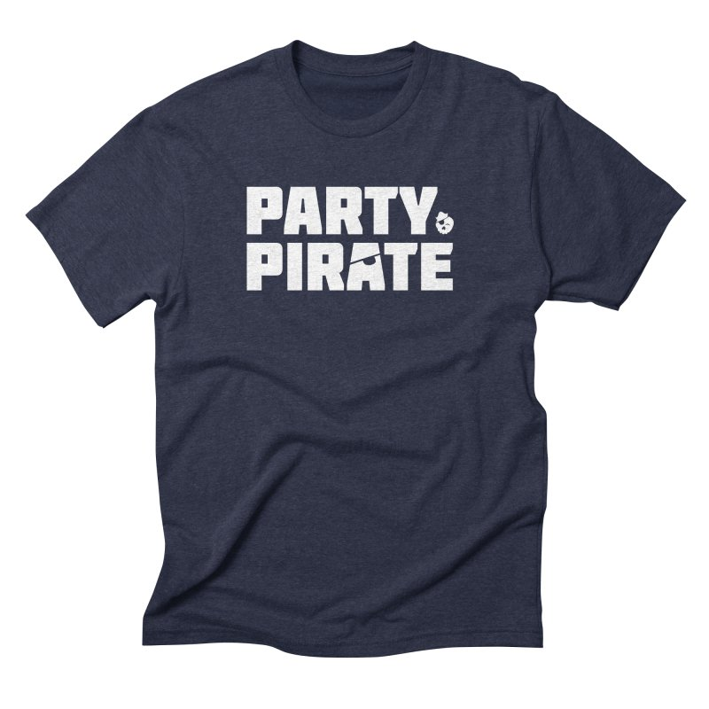THE Party Pirate Men's Triblend T-Shirt by thatssotampa's Artist Shop