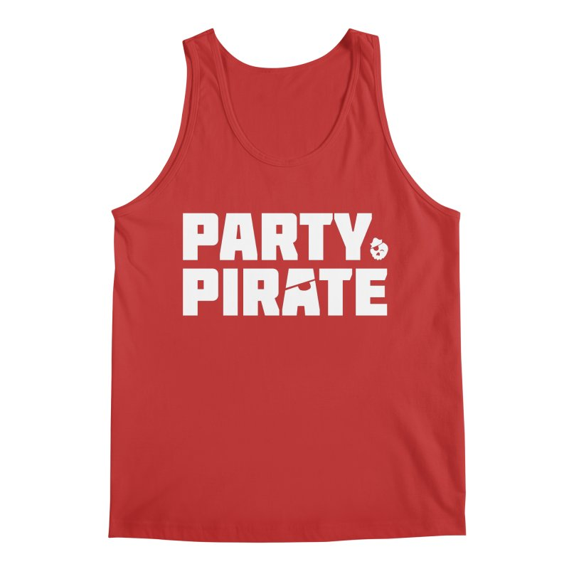 THE Party Pirate Men's Regular Tank by thatssotampa's Artist Shop