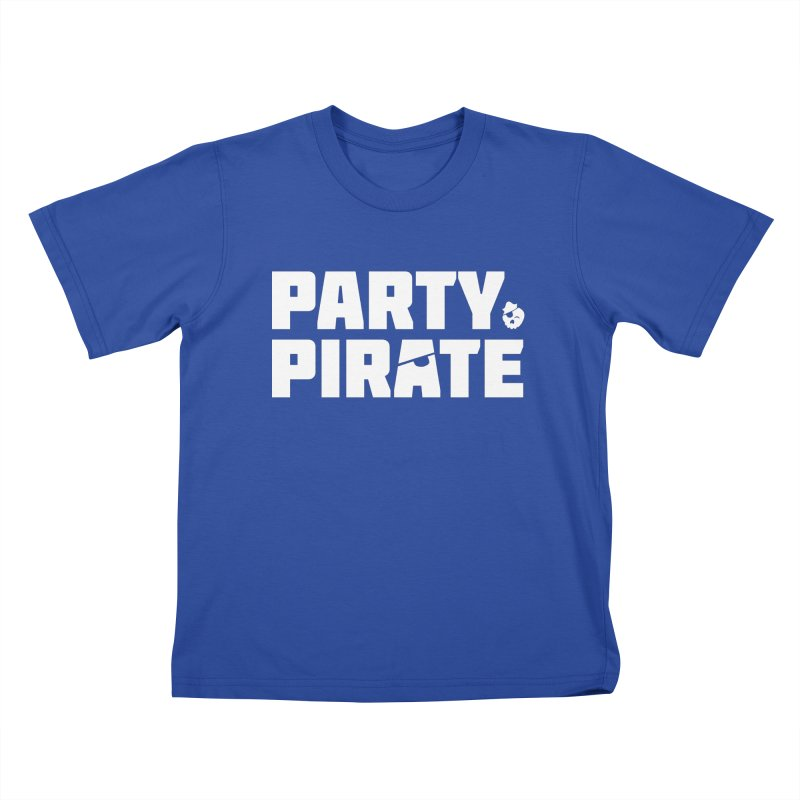 THE Party Pirate Kids T-Shirt by thatssotampa's Artist Shop