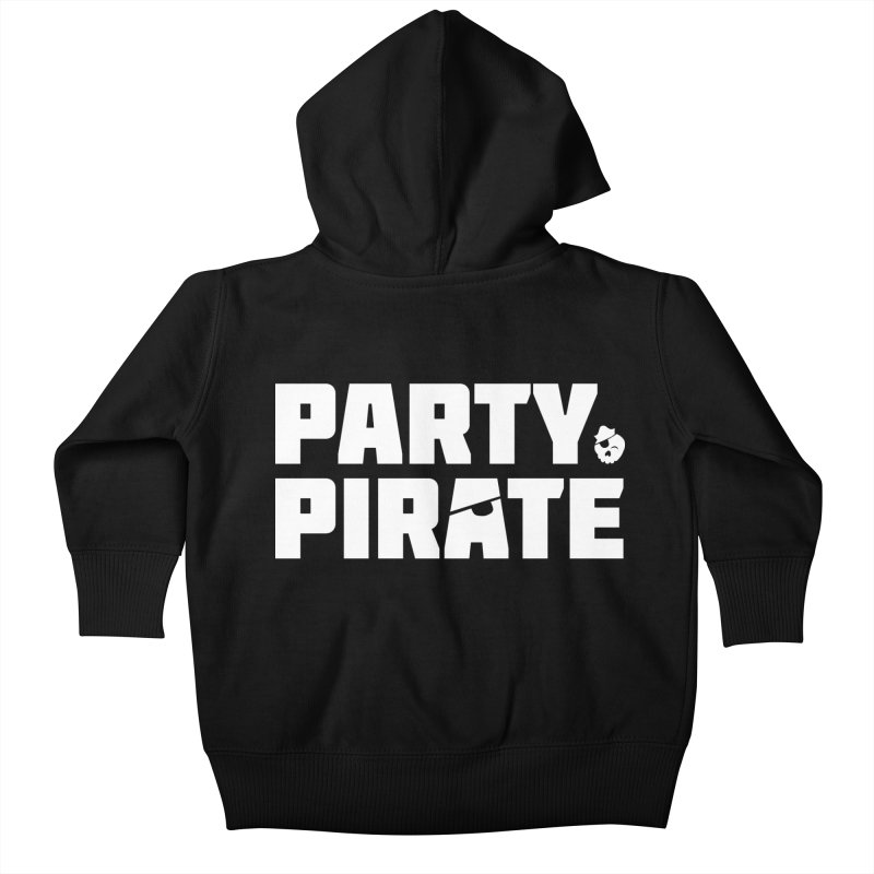THE Party Pirate Kids Baby Zip-Up Hoody by thatssotampa's Artist Shop
