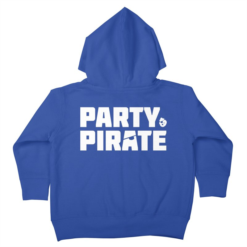 THE Party Pirate Kids Toddler Zip-Up Hoody by thatssotampa's Artist Shop