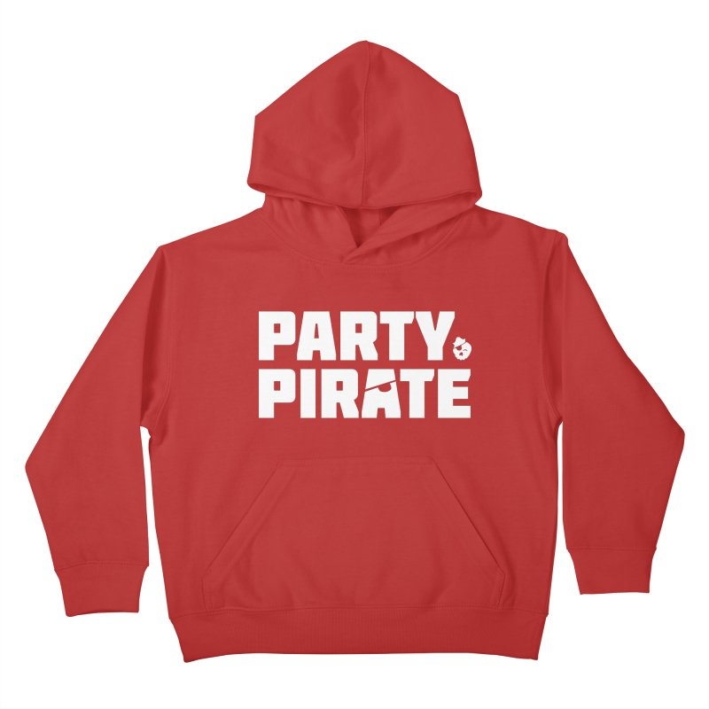 THE Party Pirate Kids Pullover Hoody by thatssotampa's Artist Shop