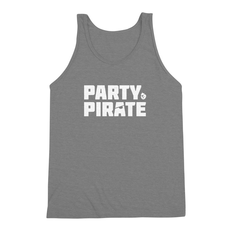 THE Party Pirate Men's Triblend Tank by thatssotampa's Artist Shop