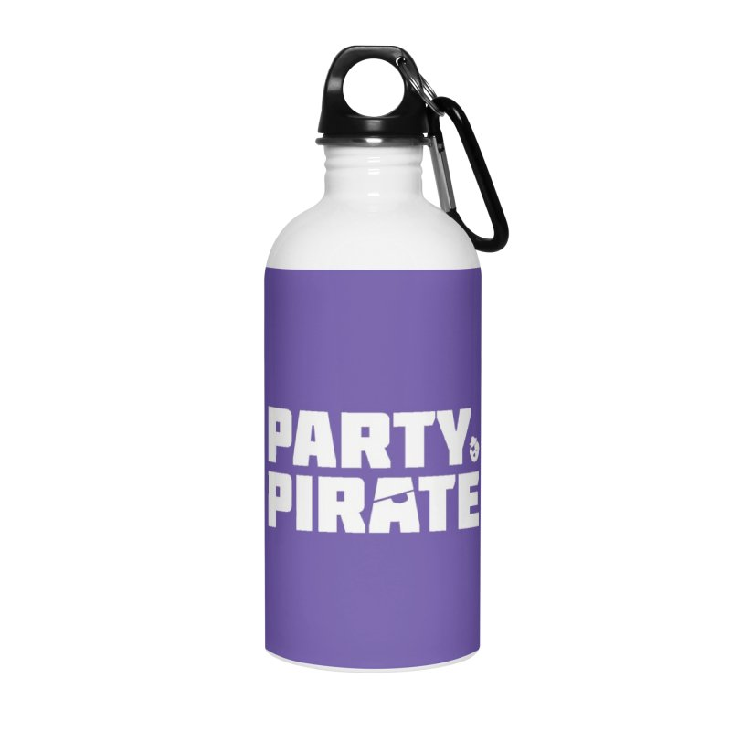 THE Party Pirate Accessories Water Bottle by thatssotampa's Artist Shop