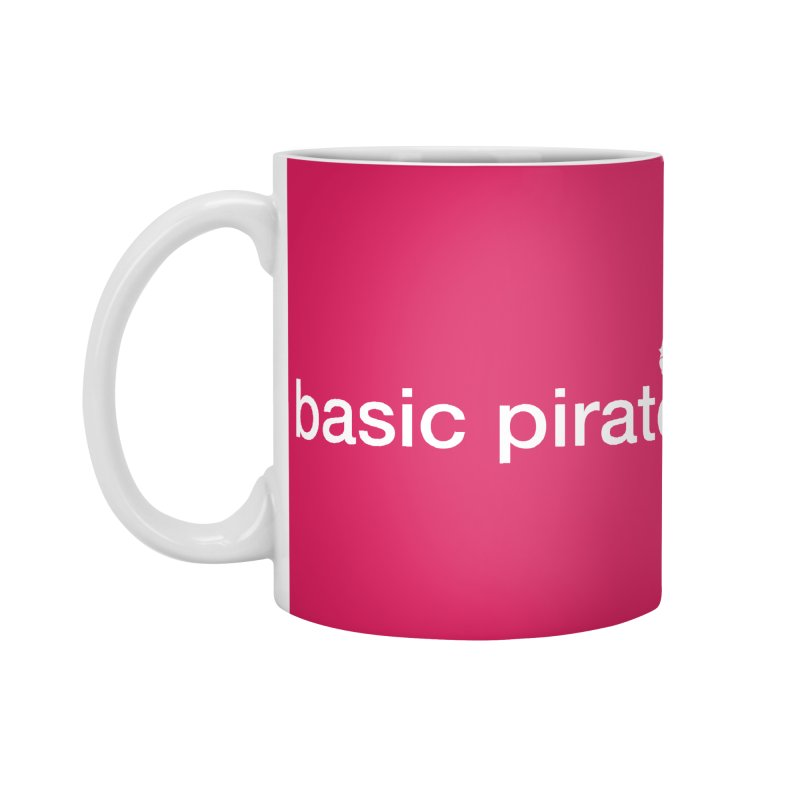 The Basic Pirate Accessories Mug by thatssotampa's Artist Shop