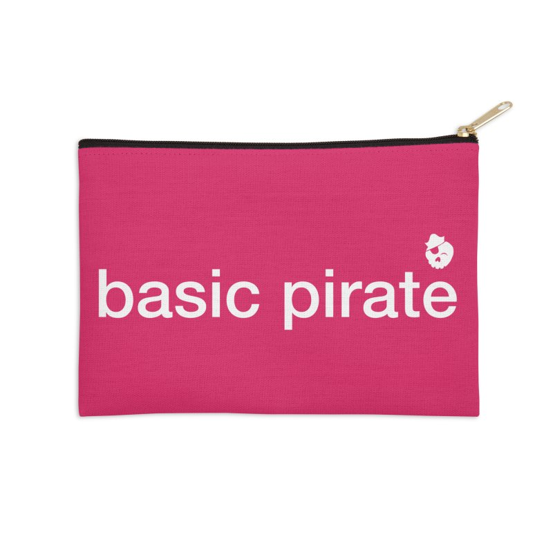 The Basic Pirate Accessories Zip Pouch by thatssotampa's Artist Shop