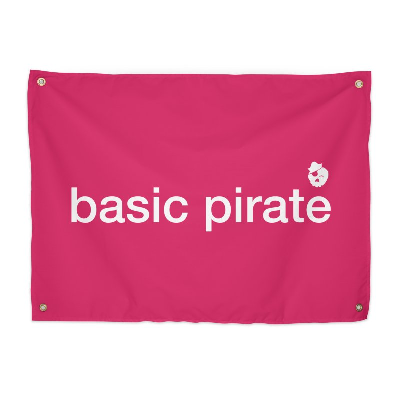 The Basic Pirate Home Tapestry by thatssotampa's Artist Shop