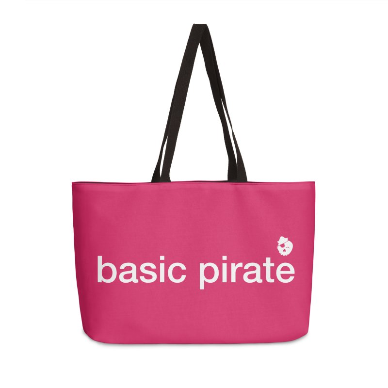 The Basic Pirate Accessories Weekender Bag Bag by thatssotampa's Artist Shop