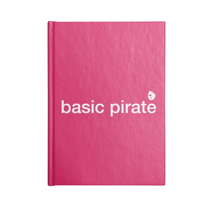 The Basic Pirate Accessories Blank Journal Notebook by thatssotampa's Artist Shop