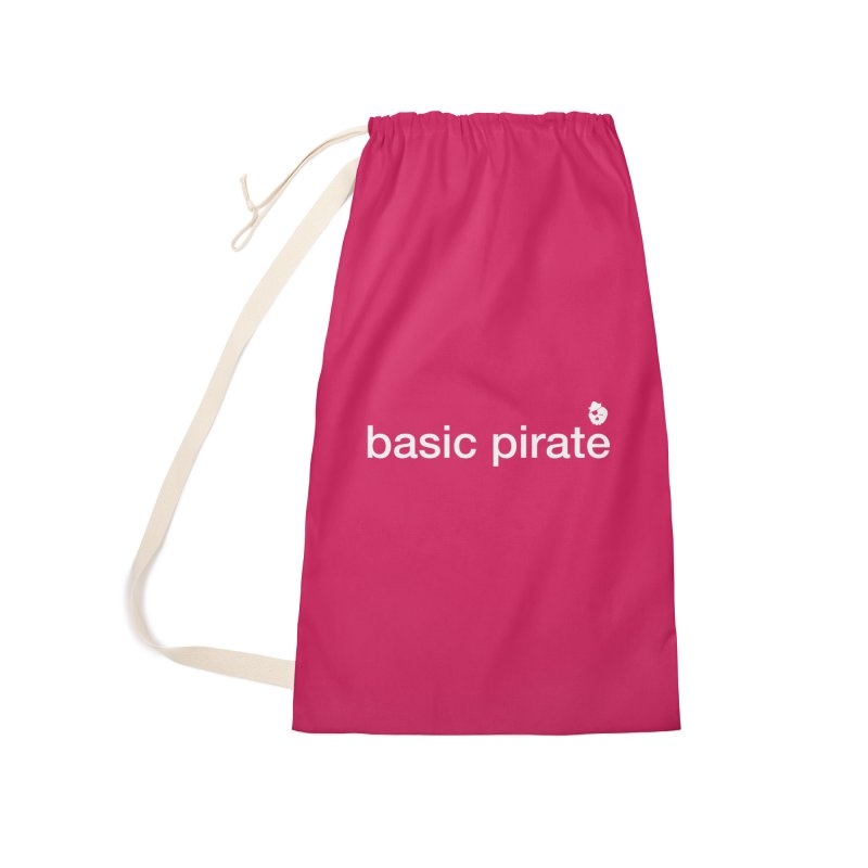 The Basic Pirate Accessories Laundry Bag Bag by thatssotampa's Artist Shop