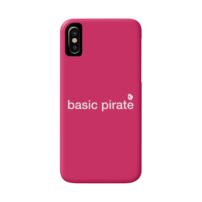 The Basic Pirate Accessories Phone Case by thatssotampa's Artist Shop