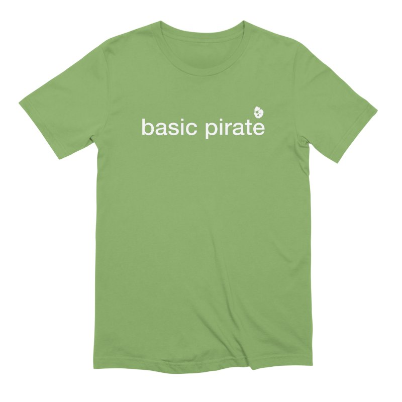 The Basic Pirate Men's Extra Soft T-Shirt by thatssotampa's Artist Shop