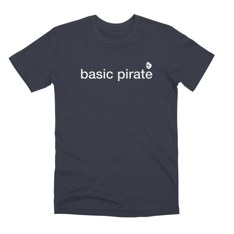 The Basic Pirate Men's Premium T-Shirt by thatssotampa's Artist Shop