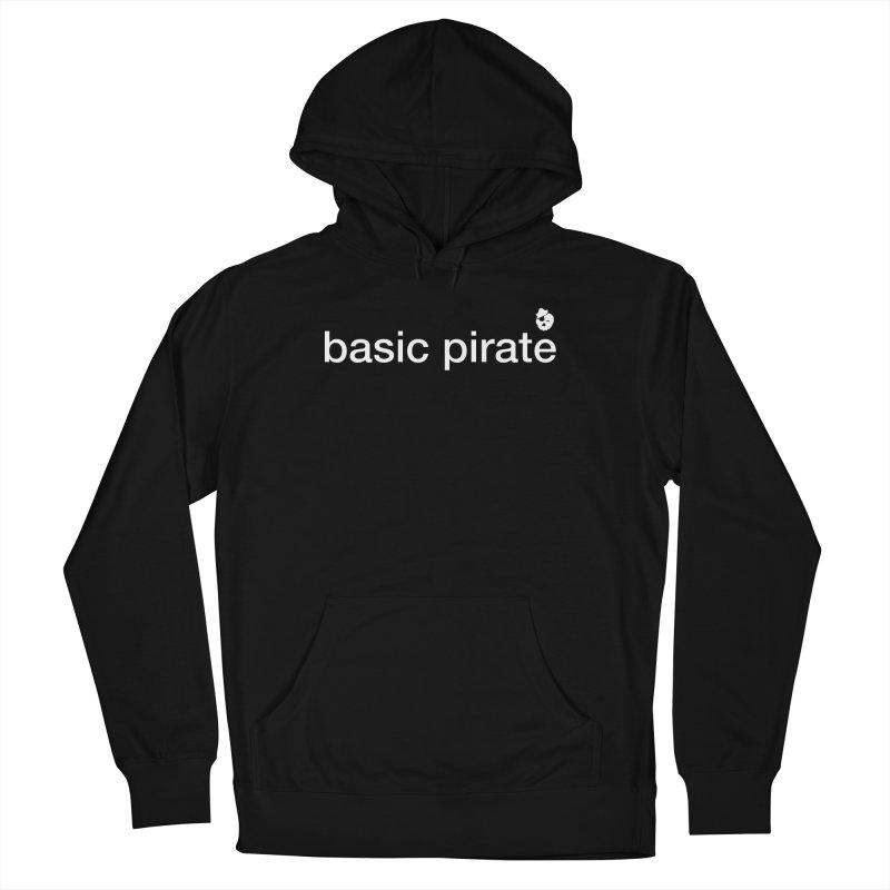 The Basic Pirate Men's French Terry Pullover Hoody by thatssotampa's Artist Shop