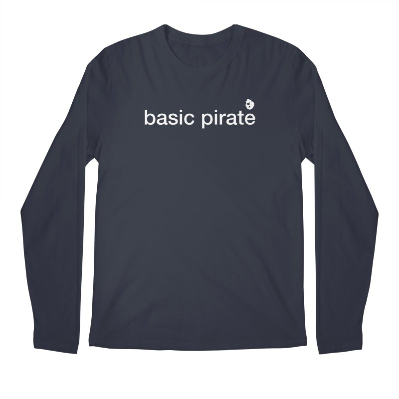 The Basic Pirate Men's Regular Longsleeve T-Shirt by thatssotampa's Artist Shop