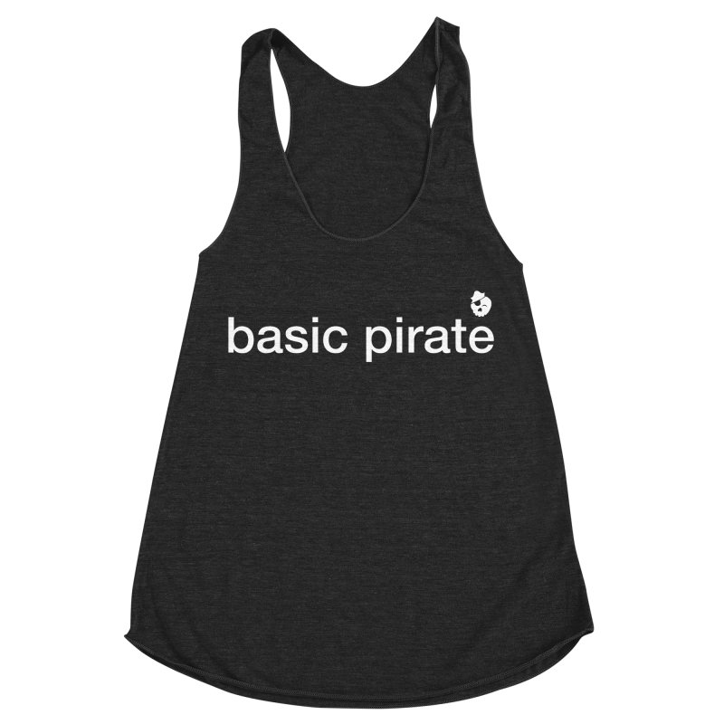 The Basic Pirate Women's Racerback Triblend Tank by thatssotampa's Artist Shop