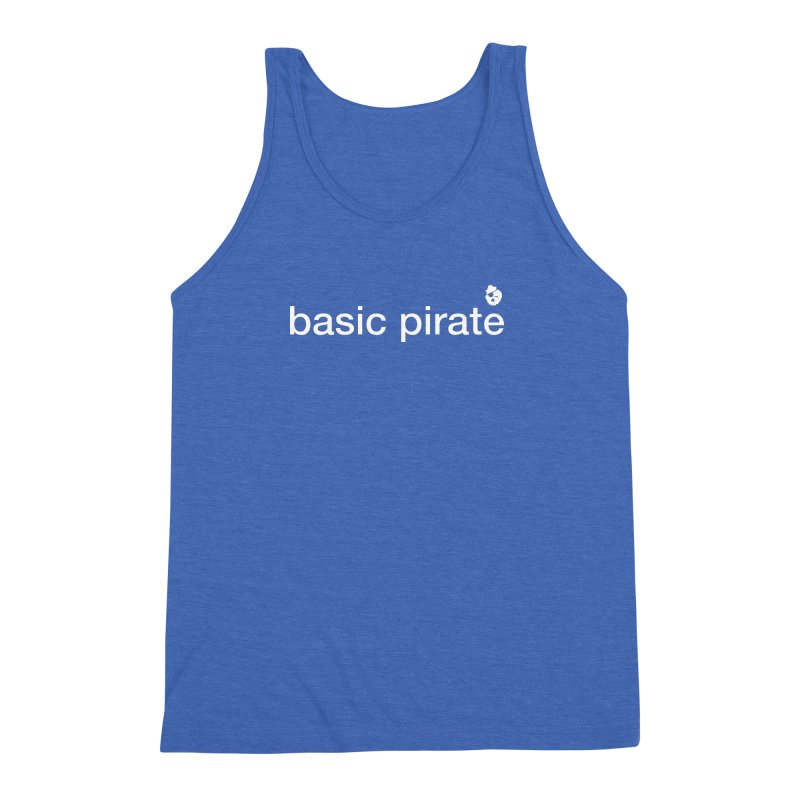 The Basic Pirate Men's Triblend Tank by thatssotampa's Artist Shop