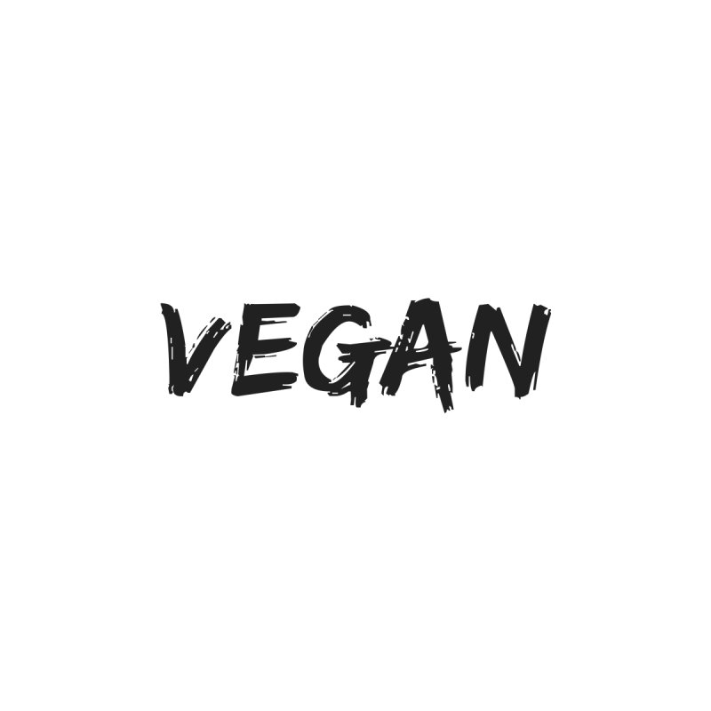 VEGAN [Style 2] (Black Font) by That Vegan Couple's Shop