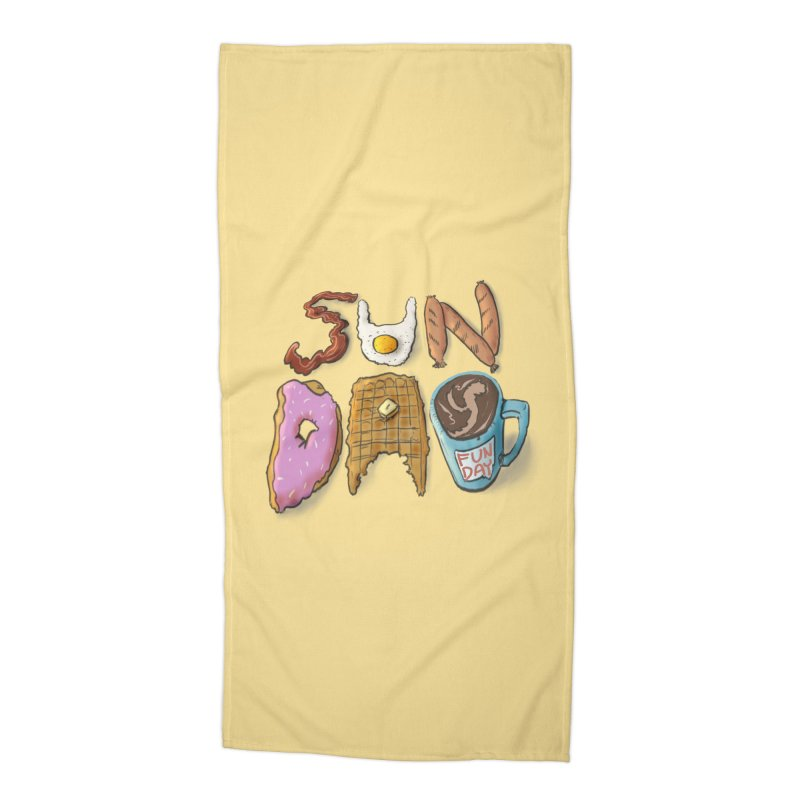 Sunday Funday Accessories Beach Towel by the DRiP