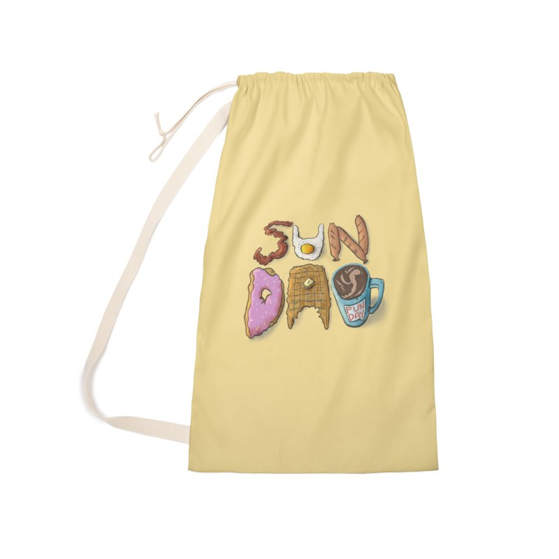 Sunday Funday Accessories Laundry Bag Bag by the DRiP