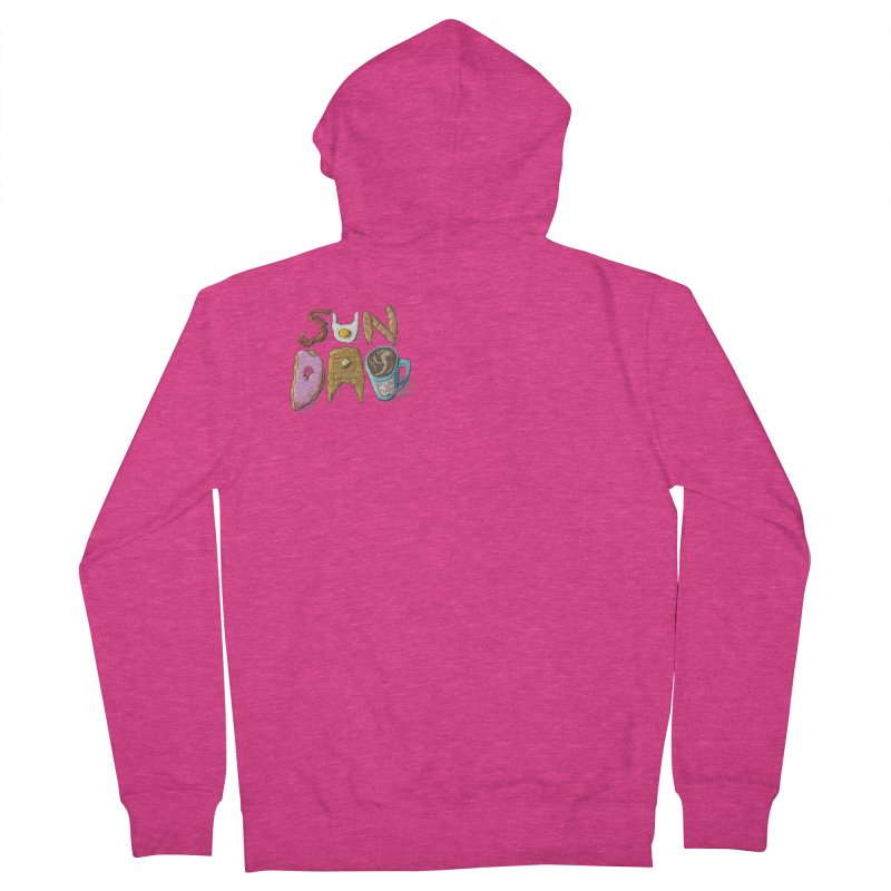Sunday Funday Women's French Terry Zip-Up Hoody by the DRiP