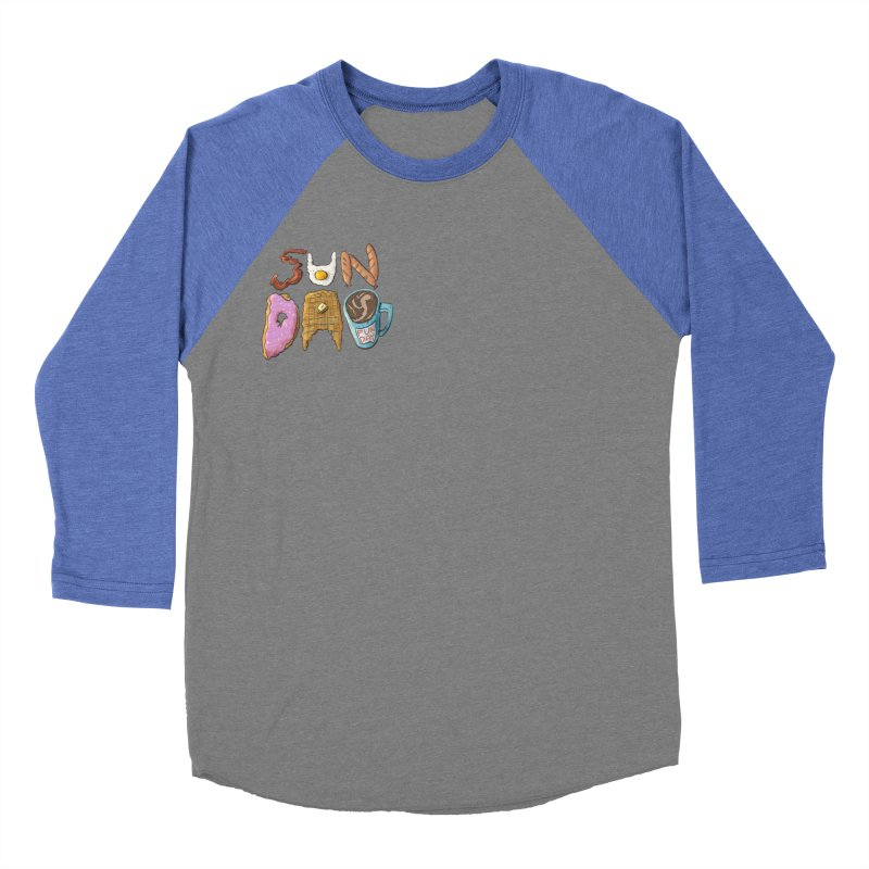 Sunday Funday Women's Baseball Triblend Longsleeve T-Shirt by the DRiP