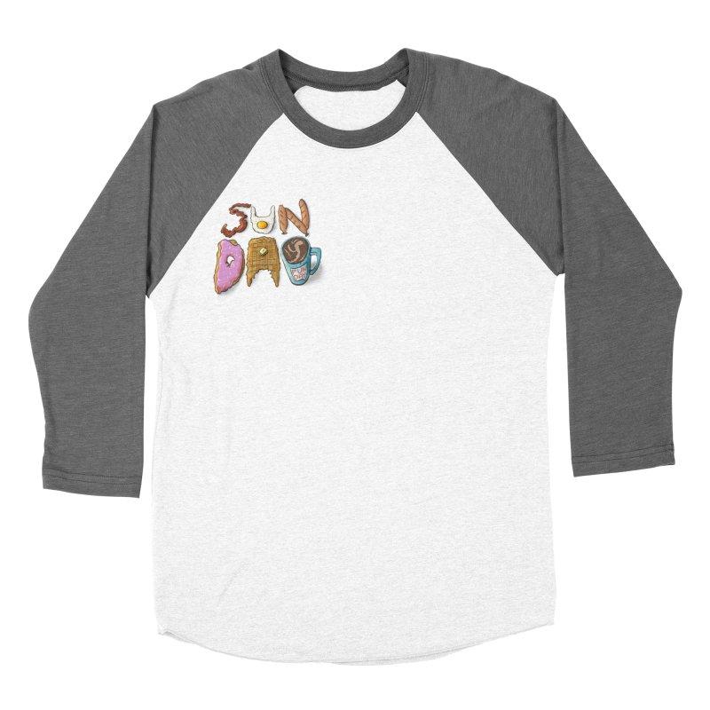 Sunday Funday Men's Baseball Triblend Longsleeve T-Shirt by the DRiP