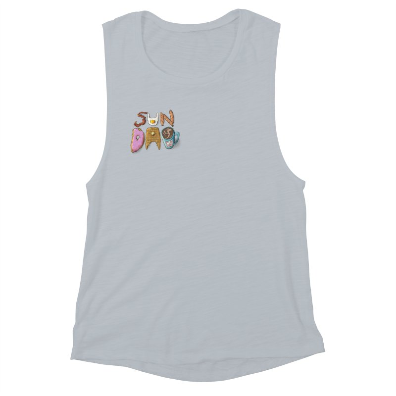Sunday Funday Women's Muscle Tank by the DRiP