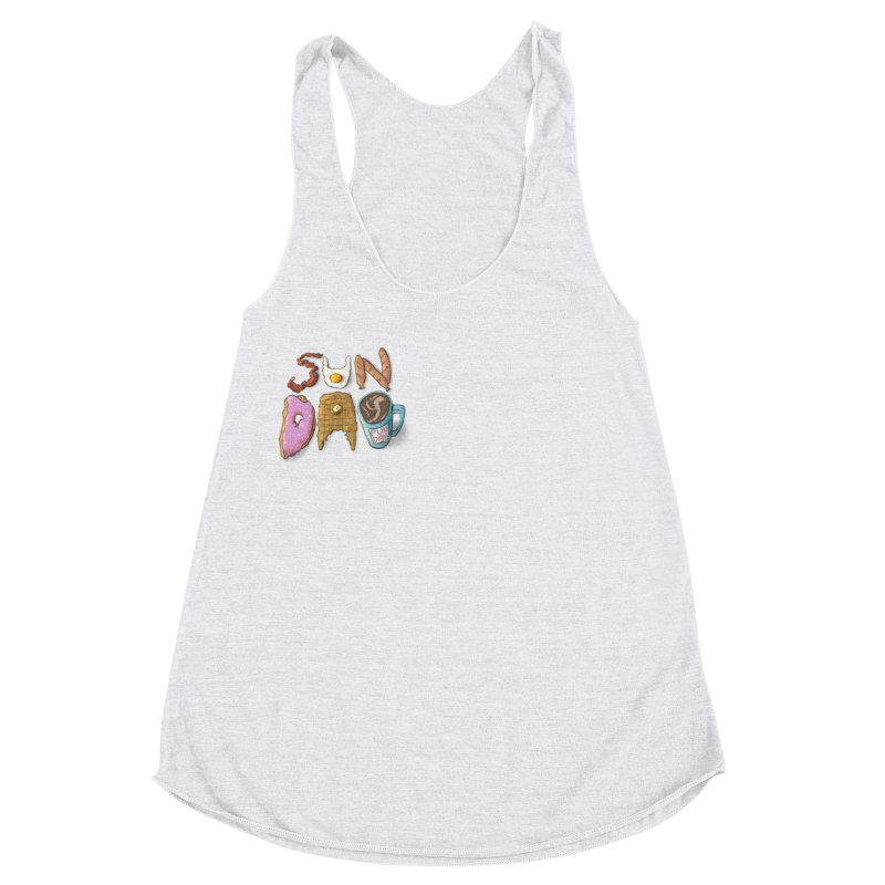 Sunday Funday Women's Racerback Triblend Tank by the DRiP