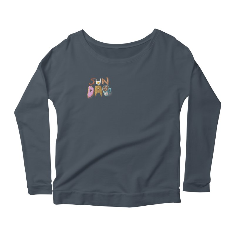 Sunday Funday Women's Scoop Neck Longsleeve T-Shirt by the DRiP