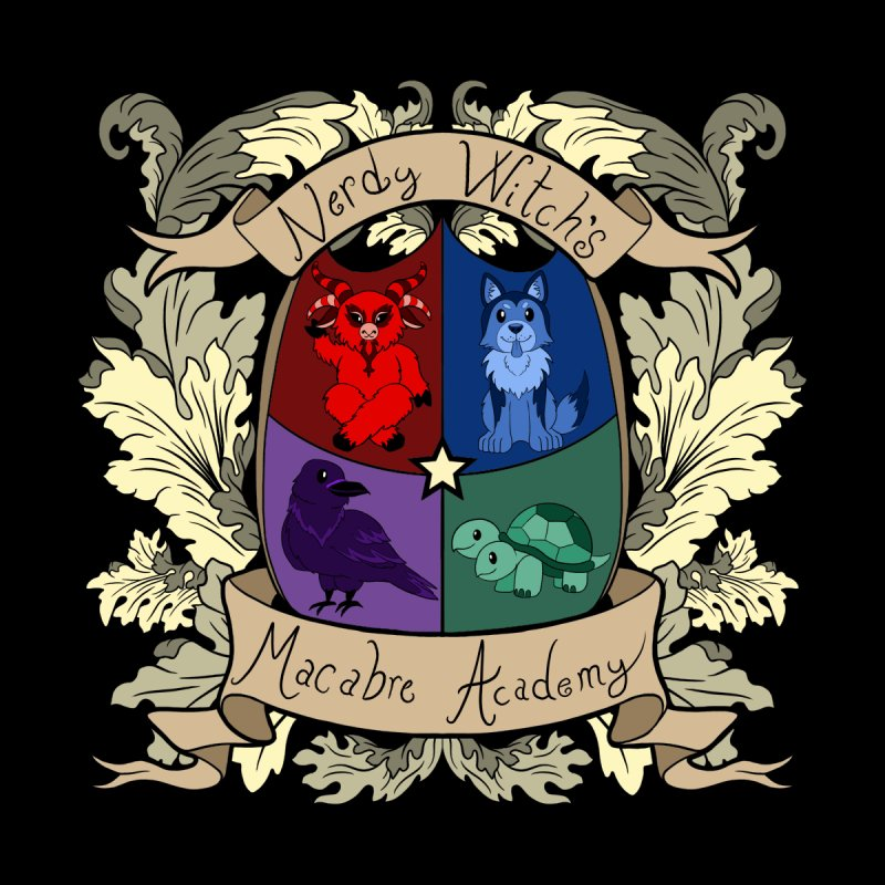 The Macabre Academy Crest Accessories Mug by theMacabreAcademy's Artist Shop