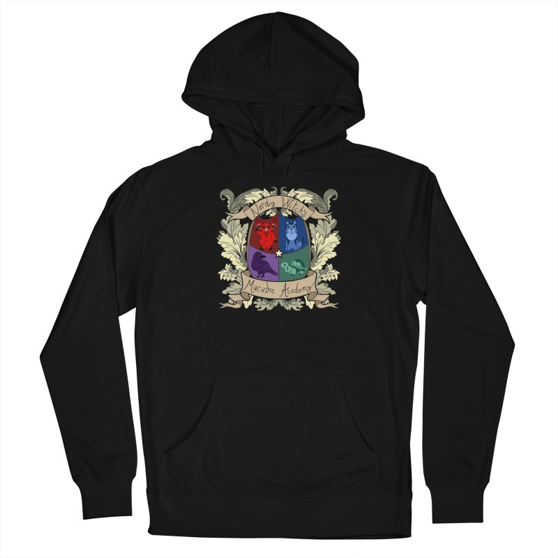 The Macabre Academy Crest Women's Pullover Hoody by theMacabreAcademy's Artist Shop