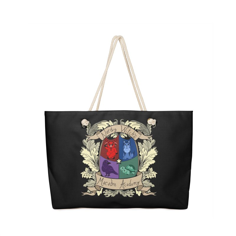 The Macabre Academy Crest Accessories Bag by theMacabreAcademy's Artist Shop