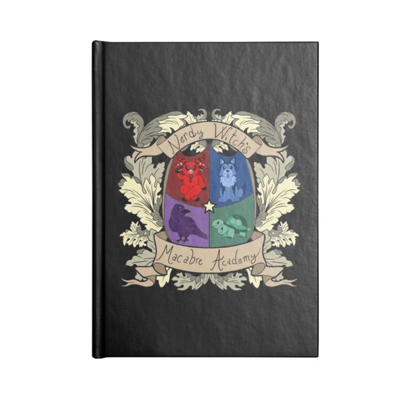 The Macabre Academy Crest Accessories Notebook by theMacabreAcademy's Artist Shop