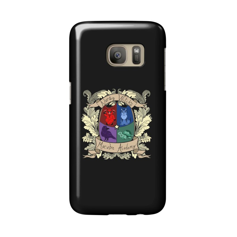 The Macabre Academy Crest Accessories Phone Case by theMacabreAcademy's Artist Shop