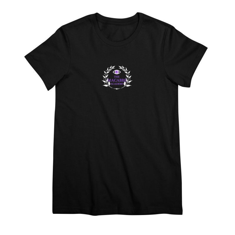 The Macabre Academy Logo Women's T-Shirt by theMacabreAcademy's Artist Shop