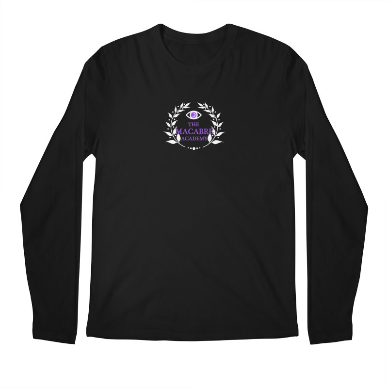 The Macabre Academy Logo Men's Longsleeve T-Shirt by theMacabreAcademy's Artist Shop