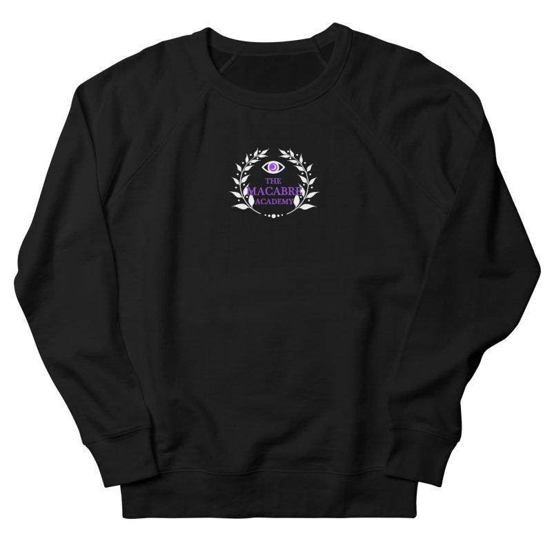 The Macabre Academy Logo Men's Sweatshirt by theMacabreAcademy's Artist Shop